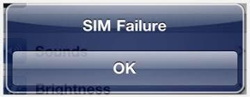 Are iPhone 4S iOS 5 0 1 Invalid SIM failure error messages