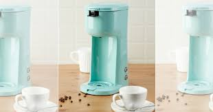 Hop On Over To Walmart Snag This Mainstays Single Serve And K Cup Brew Coffee Maker In Mint For Just 1588 Regularly 1992