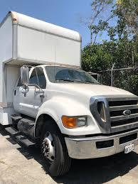 400 - 2009 Ford F650, 25ft Box Truck With Lift Gate | Allied ...