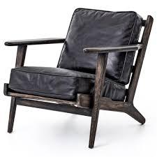 100 Mid Century Modern Canada Stylish Leather Lounge Chair Brook Zin