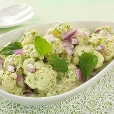 cuisiner le choux fleur recette salade de chou fleur minceur
