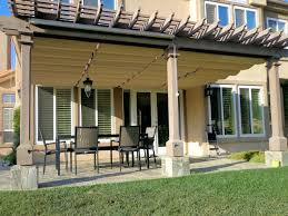 Louvered Patio Covers Phoenix by Slide Wire Cable Awnings Superior Awning