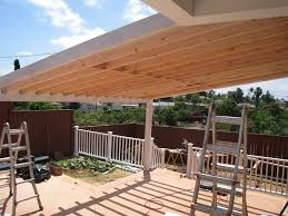 How To Build A Patio Roof Plans