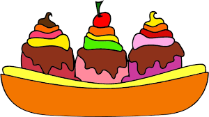 Drawing And Coloring Ice Cream Cup