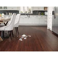 Eco Forest Laminate Flooring by Ecoforest Lanark Handscraped Locking Water Resistant Bamboo