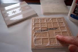 diy photo ceramic tile coasters clublifeglobal