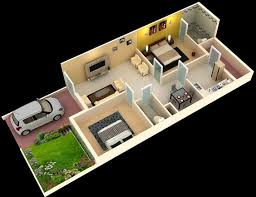Get A Home Plan Stylish 3d Home Plan Everyone Will Like Acha Homes