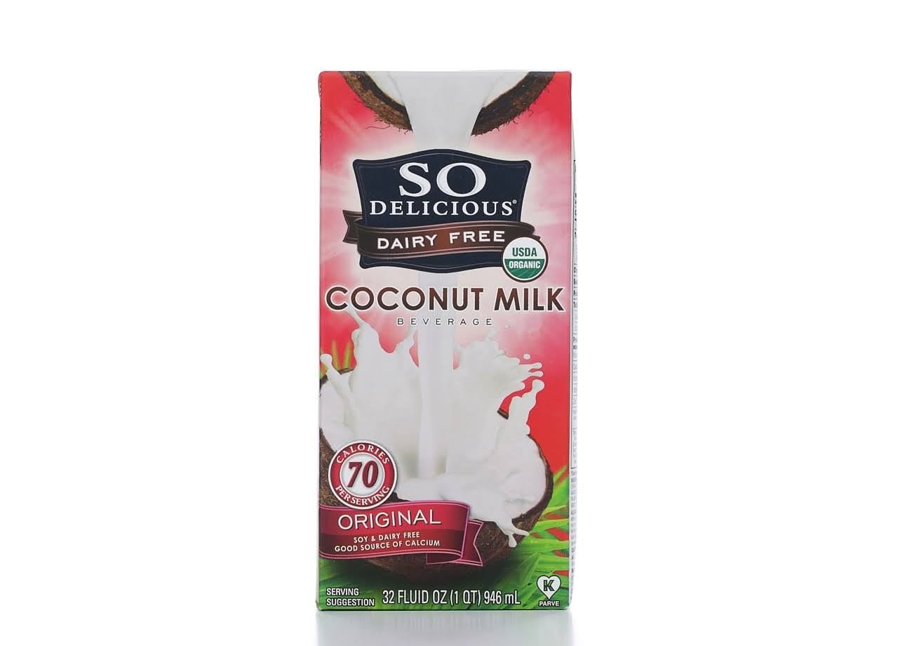 So Delicious Original Coconut Milk Beverage - 946ml