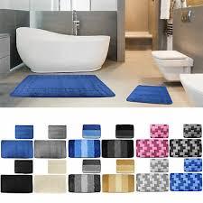 teppich wc vorleger badevorleger duschvorleger blätter motiv
