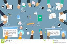 equipe bureau travail d équipe pour le bureau mains d interaction dans le