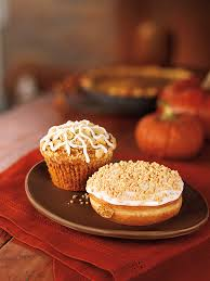 Dunkin Pumpkin Spice Donut by New Pumpkin Crème Brulee Coffee And Lattes Join Dunkin U0027 Donuts