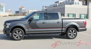 100 Special Edition Ford Trucks 20152019 F150 Sideline Appearance Package Stripes
