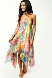 hawaiian print bridesmaid dresses amore wedding dresses