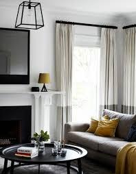 salon avec canapé gris déco salon salon gris et blanc avec des éclats noirs peinture