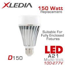 xledia d150n 150 watt equal led light bulb earthled