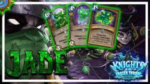 r druid deck kft hearthstone kft just sure jade druid still strong