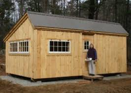 Saltbox Shed Plans 10x12 by Basic Shed Plans Wood Shed Plans Jamaica Cottage Shop