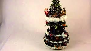 Cracker Barrel White Ceramic Christmas Tree by Musical Christmas Tree Youtube