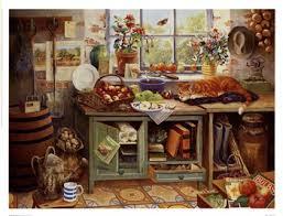 Genial Country Kitchen Prints Z47669