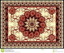 Vector Carpet Stock Illustration Of Antique Knot