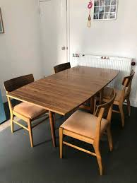 1940s Drop Leaf Table And Chairs. | In Sheffield, South Yorkshire | Gumtree