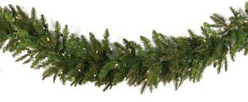 lighted christmas garland fraser fir prelit led christmas