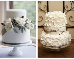 Rustic Winter Wedding Cake Design Ideas