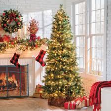 Downswept Slim Christmas Tree by Pinedale Slim Artificial Christmas Trees Improvements Catalog