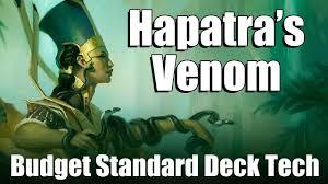 mtg budget standard deck tech hapatra s venom youtube