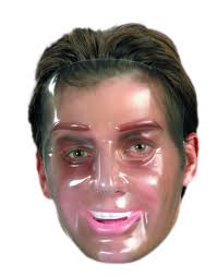 Purge Mask For Halloween by Plastic Young Male Transparent Mask Halloween Accessory Walmart Com
