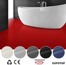 cv bodenbelag vinylboden unifarben expotop 100 x 100 cm