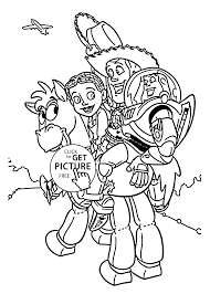 Toy Story Coloring Pages TelematikInstitutorg
