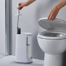 flex store wc bürste mit großem aufbewahrungsbehälter