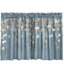 Heritage Blue Curtains Walmart by Kitchen Colorful Walmart Kitchen Curtains For Pretty Kitchen