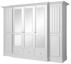 kleiderschrank bianco holz weiß 2 türig landhaus shabby