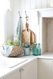 Aqua Kitchen Decor Full Size Rustic Modern Kitchen With Blue