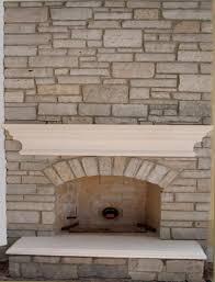 Brick Limestone Fireplace Mantels Ideas