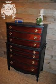 Birdseye Maple Serpentine Dresser by Painted Antique Serpentine Four Drawer Dresser With Mirror Tiger