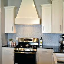 charming herringbone kitchen backsplash white gray marble tile