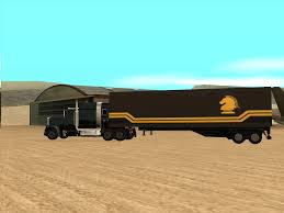 100 Knight Rider Truck FLAGs Semi Image Mod For Grand Theft Auto San