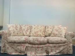 Rowe Furniture Sofa Cleaning by Vintage Rowe Furniture Upholstered Floral Three Cushion Sofa For