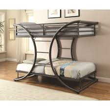 coaster bunks twin over twin contemporary bunk bed value city