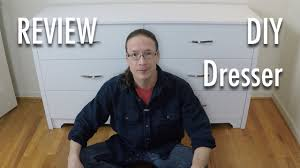 South Shore Libra Dresser Instructions by Review South Shore White Dresser Youtube