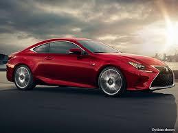 Lexus Red Sport Car