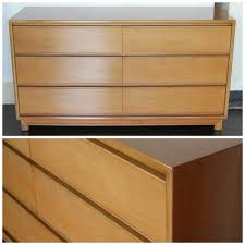 Johnson Carper 6 Drawer Dresser by Free Ship Kroehler Mid Century Lowboy Dresser Chest