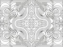 Pdf Pic Beautiful Decoration Geometric Coloring Books Free Pages Gianfreda Net