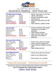 QTA Detailing Price List - Quality Truck And Auto Get A Fabulous Car Wash Freddys 702 9335374 Home Innout Express North Hollywood Ca Detailing Inexterior Ldon Road Services Prices Poconos Auto Service Price Menu Yelp At Jax Kar Truck Semitruck Onsite Oryans Monticello Car Wash Prices Pinterest