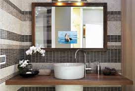 20 Bathroom Mirror Ideas & Best Decorative Bathroom Mirrors 25 Modern Bathroom Mirror Designs Unusual Ideas Vintage Architecture Cherry Framed Bathroom Mirrors Suitable Add Cream 38 To Reflect Your Style Freshome Gallery Led Home How To Sincere Glass Winsome Images Frames Pakistani Designer 590mm Round Illuminated Led Demister Pad Scenic Tilting Bq Vanity Light Undefined Lighted Design Beblicanto Designs