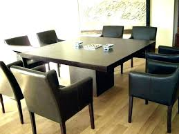 Square Dining Room Sets Table With Leaf Extension Brown For 8 South Africa