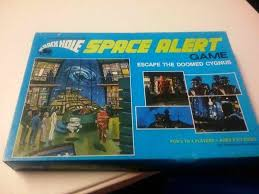 Lets Play The 1979 Black Hole Space Alert Board Game